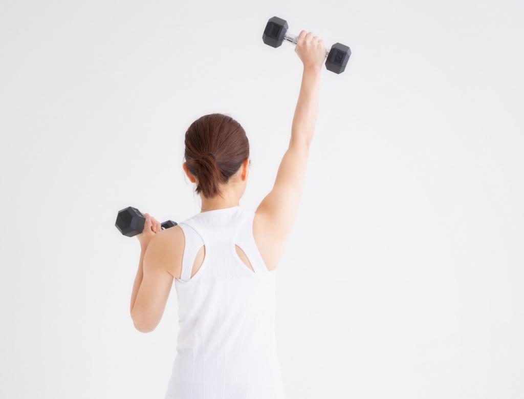 二の腕のトレーニング