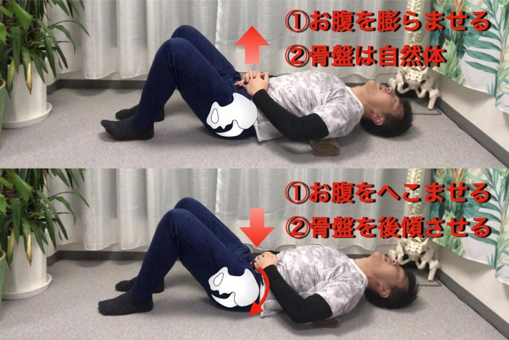 腹式呼吸の行い方