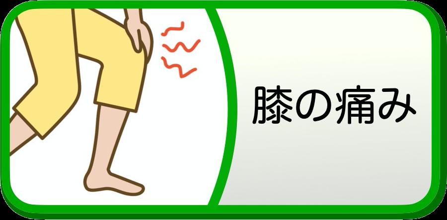 膝痛イラスト